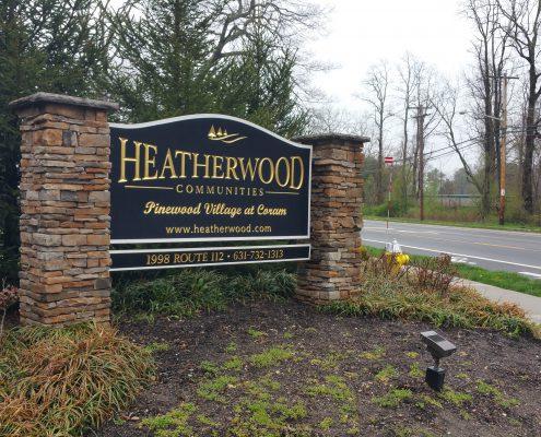 Community Property Sign
