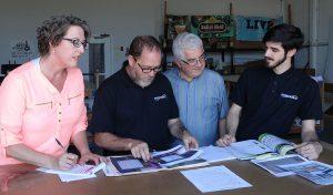 Signwave Team members at work