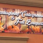 Fall Retail Signage