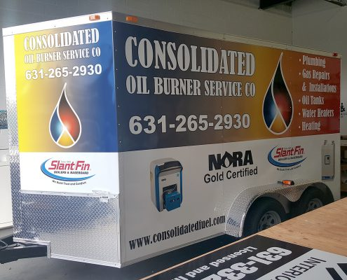 Full color graphics for your truck or trailer