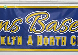 Scrim Bannersfor Brooklyn sports team