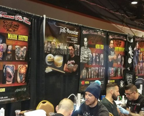Banners for trade show in the New York area