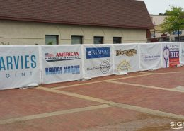 Event banners for Glen Cove Festival