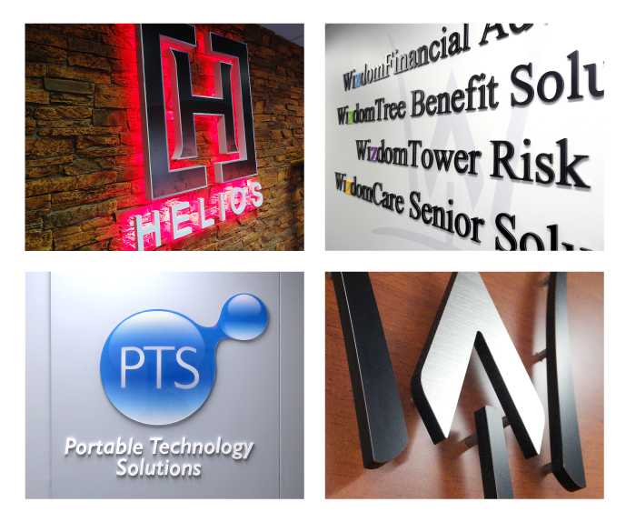Set the tone for your business location with interior signage that properly reflects your brand.