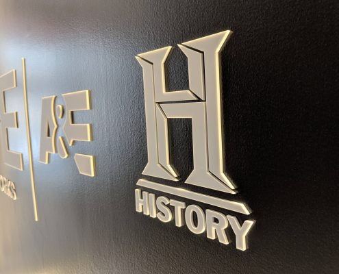 HistoryChannel logo close-up