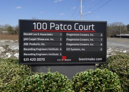 Directory Sign for Commercial Property