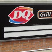 Installation of custom-branded changeable letter sign