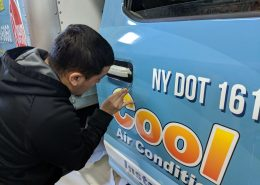Attention to detail ensures longevity of fleet graphics