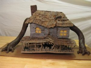 monster house cardboard