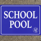 Outdoor sign for Hauppauge school pool