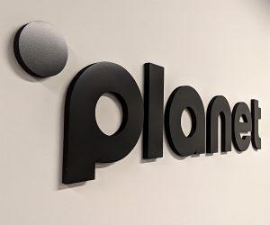 dimensional planet logo