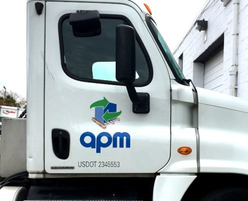 APM Colorful Door Logo