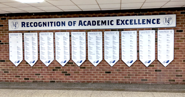 Banners at Happauge High School