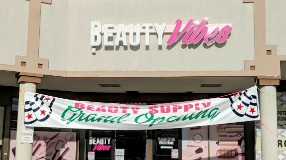 Beauty Vibes Storefront