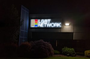 Dual-lit Channel Letter Sign with Backer Panel