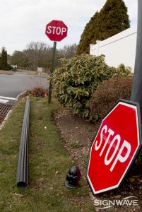 Regular old Stop Sign gets an upgrade