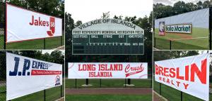 ball field banners