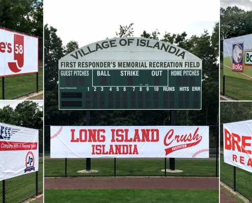ball field banners